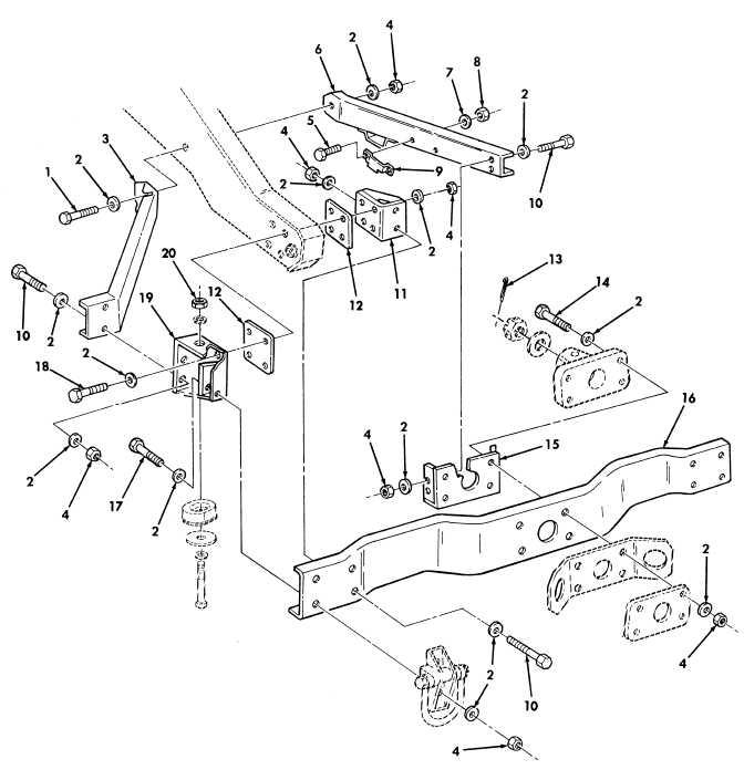 Figure 442  Kit  Prime Mover  Lt  Howitzer  105 Mm L119