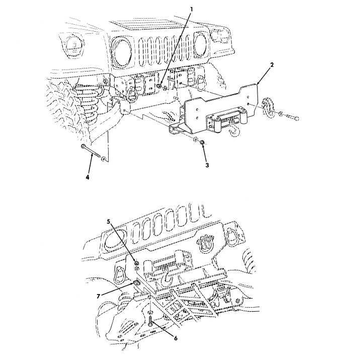 figure 471  10 500 lb hydraulic winch accessory kit