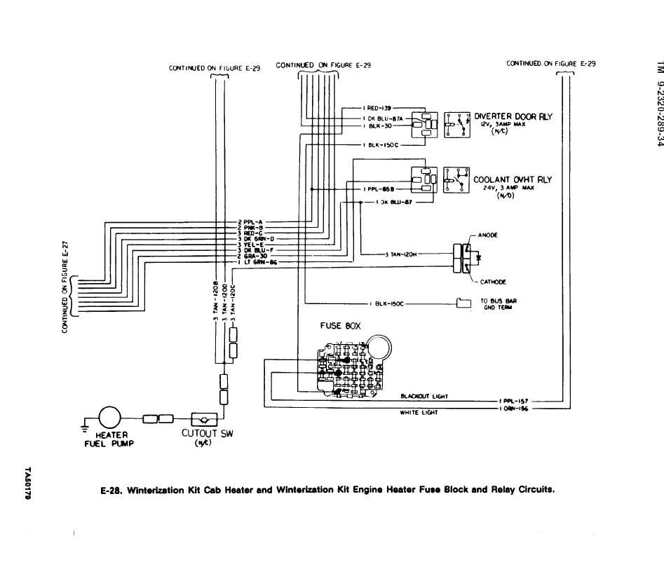 international 4700 fuse panel diagram e-28. winterization kit cab heater and winterization kit ... #12